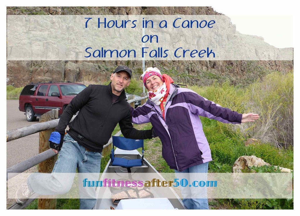 7 Hours in a Canoe on Salmon Falls Creek