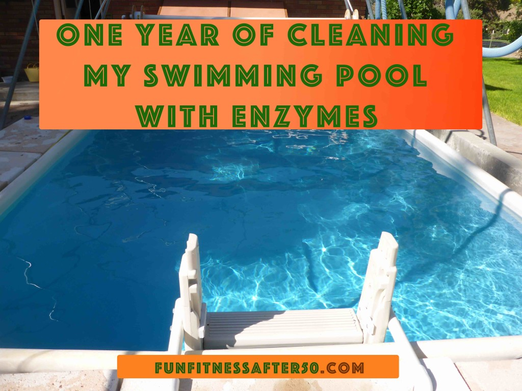 One Year of Cleaning My Swimming Pool with Enzymes