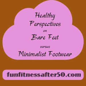 bare feet vs minimalist footwear