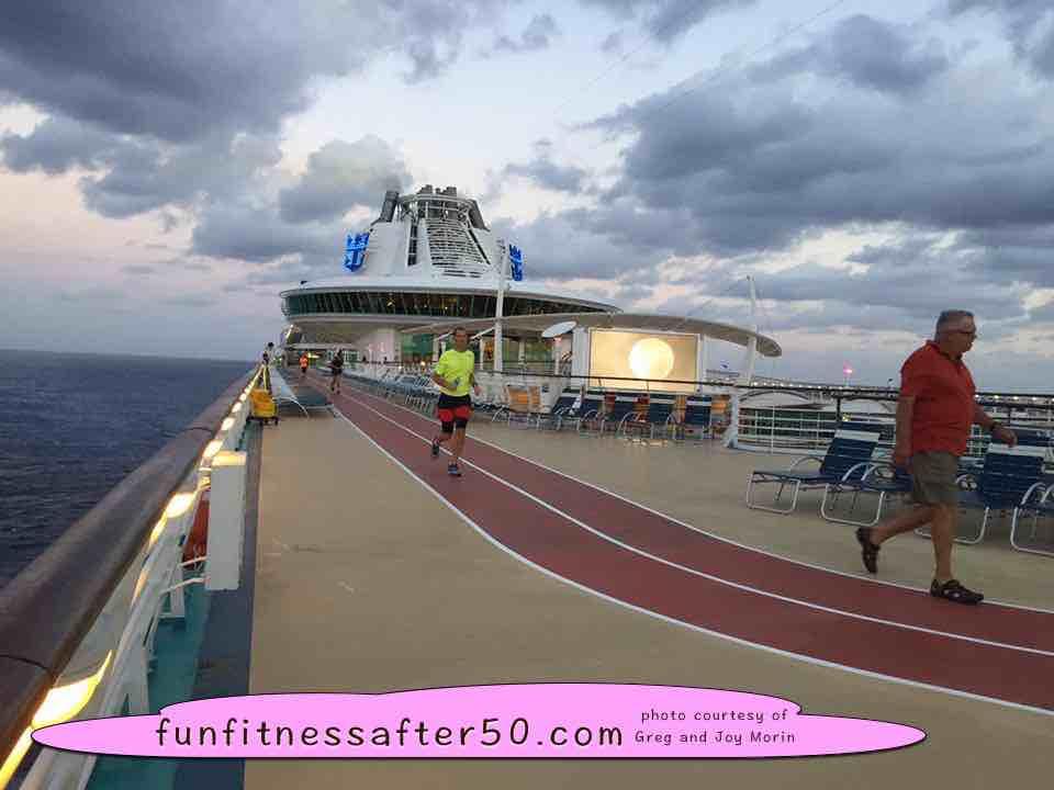 Running Barefoot On A Cruise Ship - My cruise ship