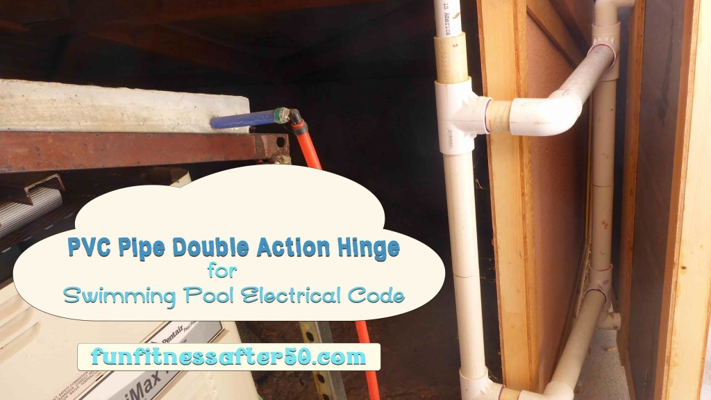 PVC Pipe Double Action Hinge for Swimming Pool Electrical Code