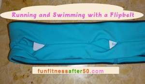 Running and Swimming with a Flipbelt
